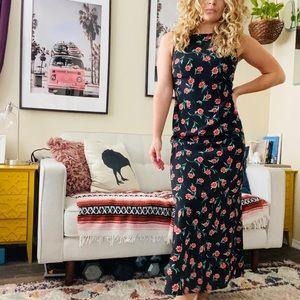 Esprit vintage maxi floral dress